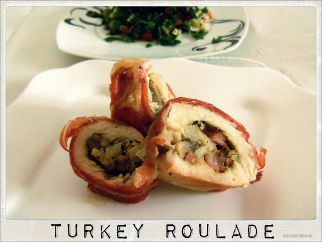 Jamon Serrano Covered Turkey Roulade