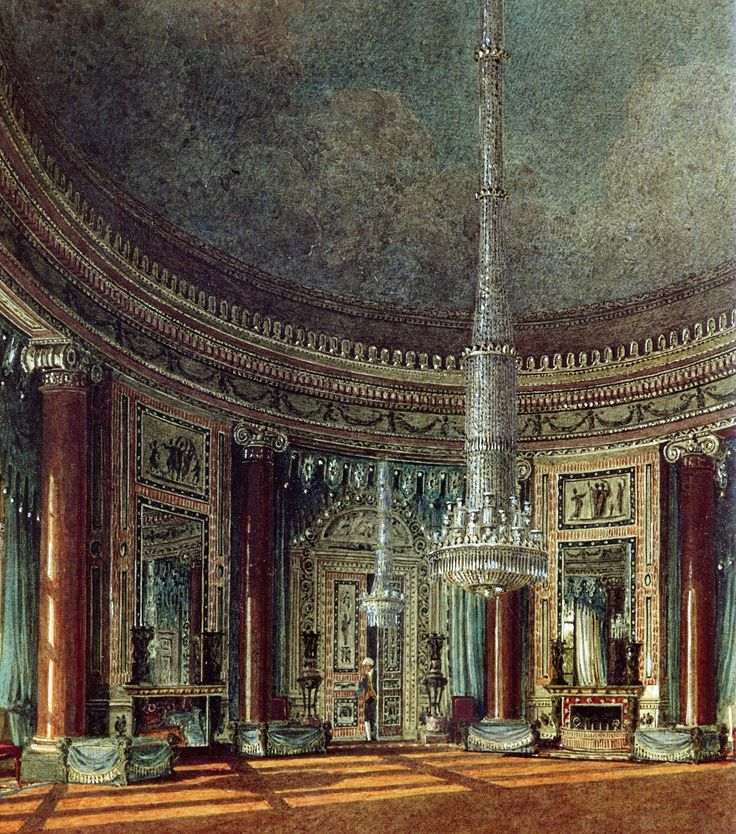 Interior of Carlton House the Circular Room