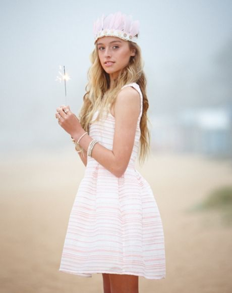 PAVEMENT BRANDS - SAMARA PARTY DRESS #dress #party #fashion #girls #teen #tween #gumclothing #races #spring #pink