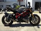 Check out this 2012 Ducati Streetfighter S listing in Daytona Beach, FL 32114 on Cycletrader.com. This Motorcycle listing was last updated on 10-Oct-2013. It is a Standard Motorcycle weighs 434 lbs has a 0 L-twin cylinder, 4 valves per cylinder, Desmodromic engine and is for sale at $14995.
