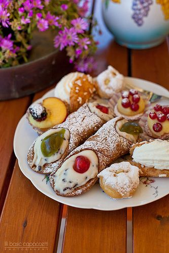 Italian dessert More yummy photos on my page : https://www.facebook.com/LiliBasicCapaccettiPhotography