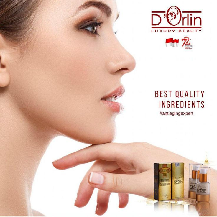 D'ORLIN WHITENING SERUM GOLD SERIES  - Mengenyalkan mengencangkan kulit wajah - Mengurangi garis kerutan tanda penuaan dini - Untuk kecantikan kulit sekarang & nanti  More info www.orlincosmetics.com