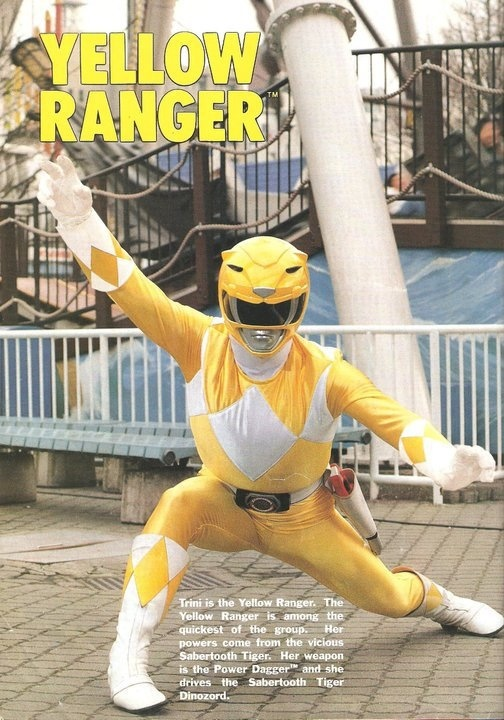 Trini/Yellow Rangers- Mighty Morphin' Power Rangers