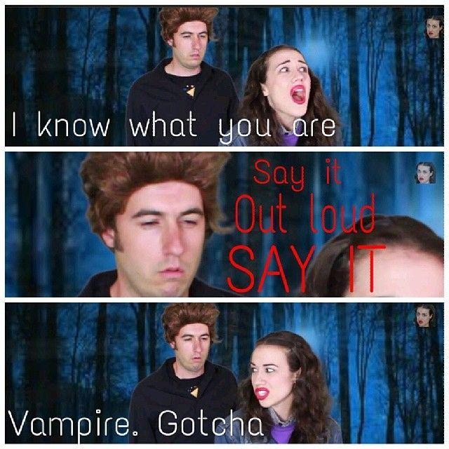 Vampire. Gotcha.