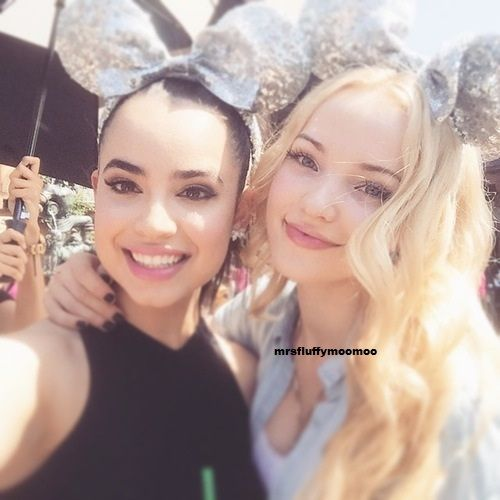 Dove Cameron and Sofia Carson at Coolest Summer Ever May 22,2015