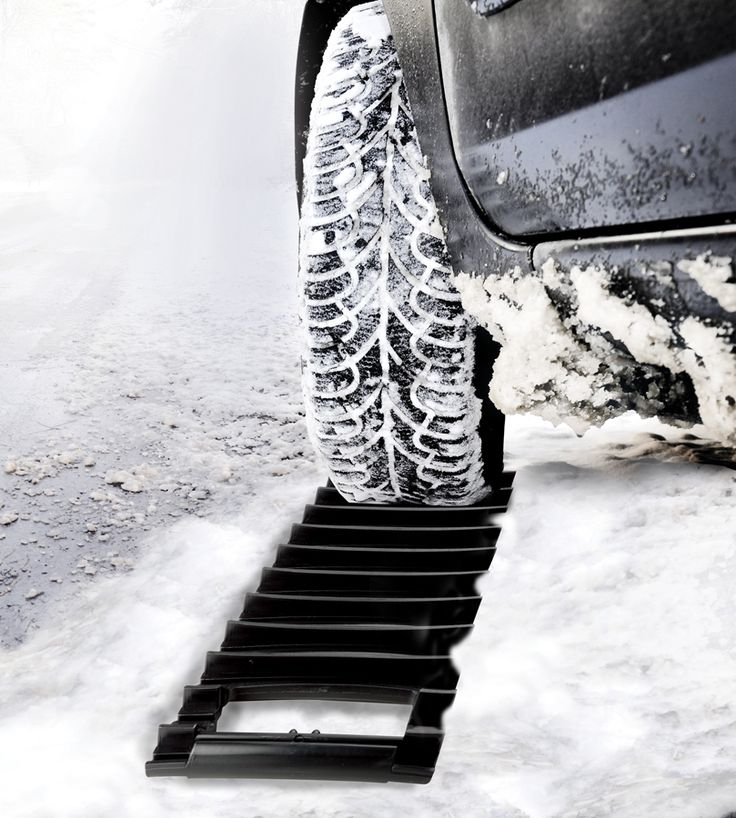 Ice scraper and traction mat in one, instant traction in snow and ice. Place under a spinning tire to get unstuck. Heavy duty construction means durability!