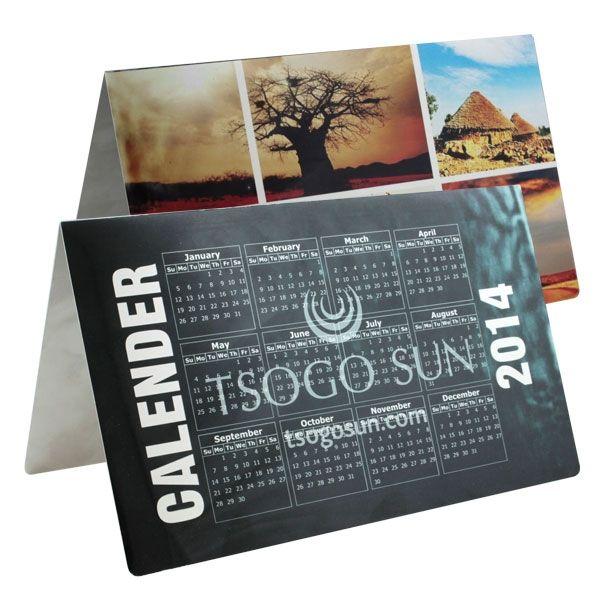 Desk Calender A4 Product Size: 297w x 210h Branding: Digital Print Material: Metal