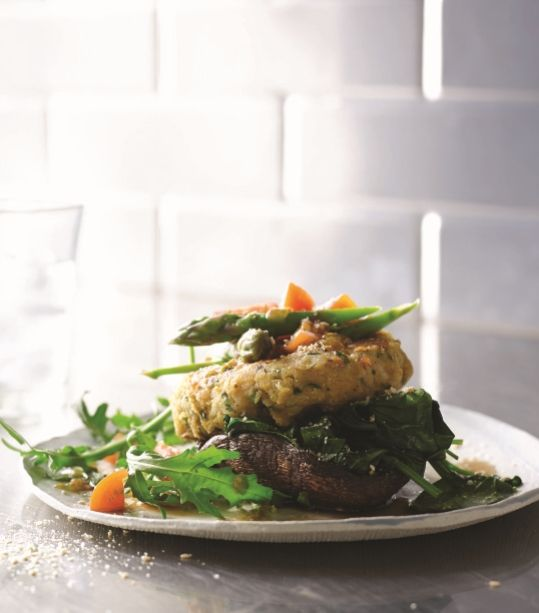 77 best blend it up images on pinterest kitchens cooking recipes spicy chickpea burgers with portobello buns and greens recipe try these veggie burgers in the vitamix hearty and chock full of complex flavors forumfinder Images