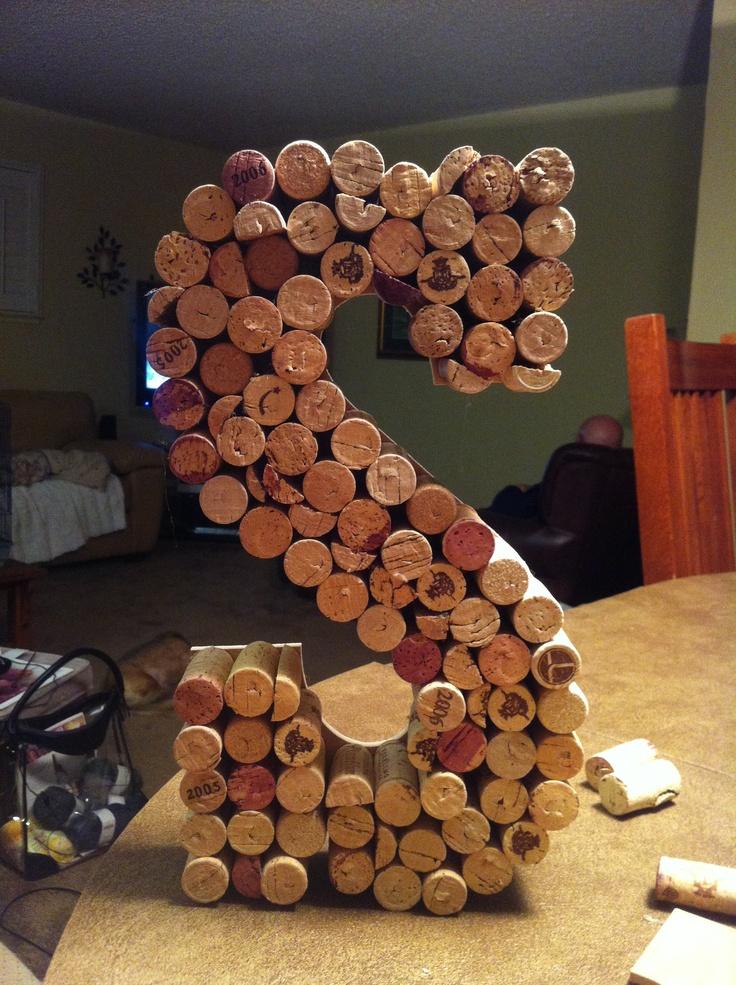 bridal Shower cork letters 12 best Bridal