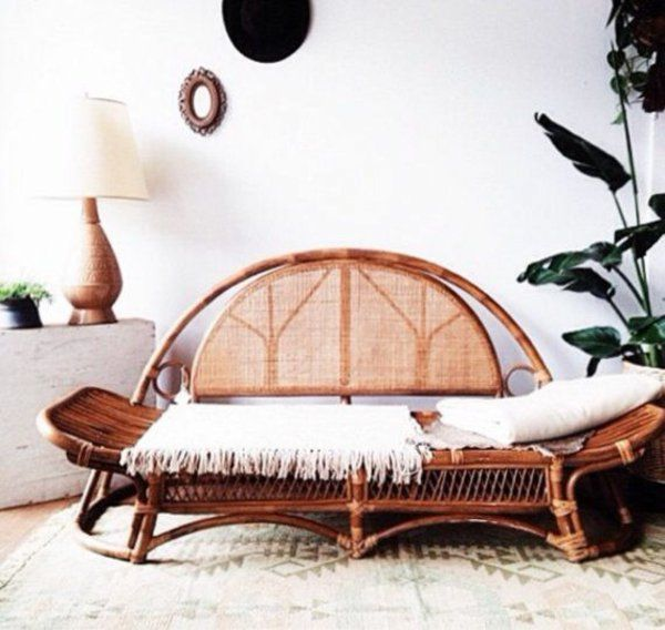 rattan lounge möbel sofa