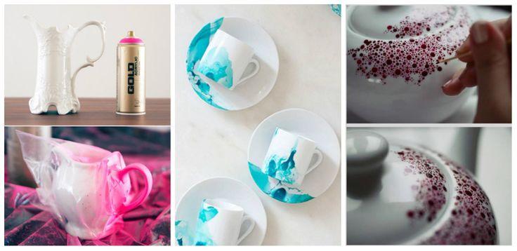 Δημιουργικές ιδέες για να διακοσμήσετε κούπες με βερνίκι νυχιών   SunnyDay
