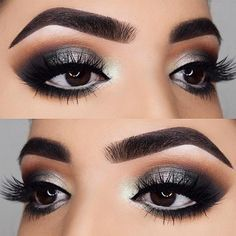 The beauty of dark brown eyes is immense. But if you know how to accentuate what is already there, correctly, you will always look gorgeous!
