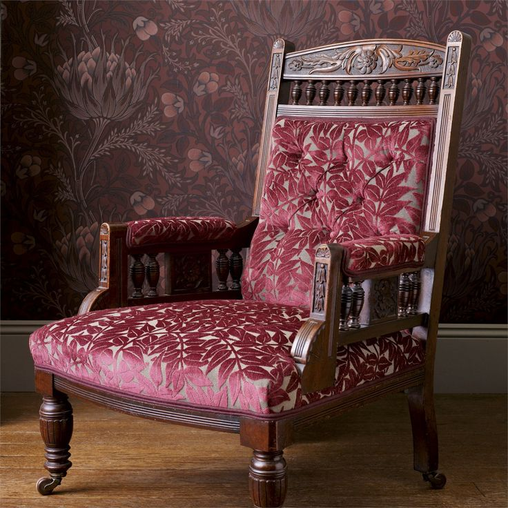 The Original Morris & Co - Arts and crafts, fabrics and wallpaper designs by William Morris & Company | Products | British/UK Fabrics and Wallpapers | Branch (DM6W230274) | Archive Weaves