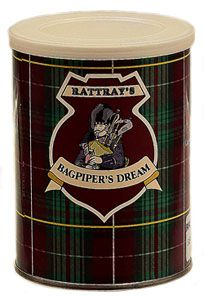 Rattrays Bagpipers Dream Tobacco Reviews - Pipe Tobacco Reviews - LuxuryTobaccoReviews.com