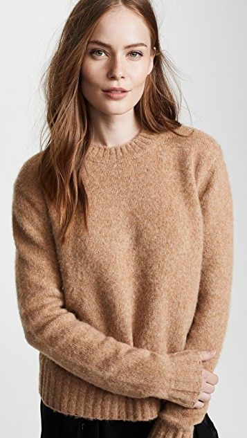 6040bc1ad0baf4 Brushed Crew Neck Sweater | summer sf/ fall 2018 | Crew neck, Helmut ...