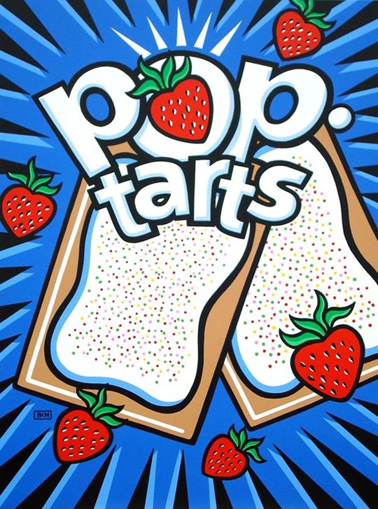 We love Pop-Tarts. Strawberry. Cinnamon Sugar. You name it, we'll eat it.