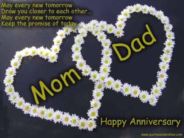 30th Wedding Anniversary Gifts For Mum And Dad: Happy Anniversary Mom And Dad Quotes