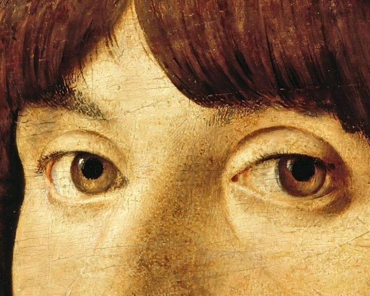 Antonello da Messina (c.1430-1479) - Portrait of a young man