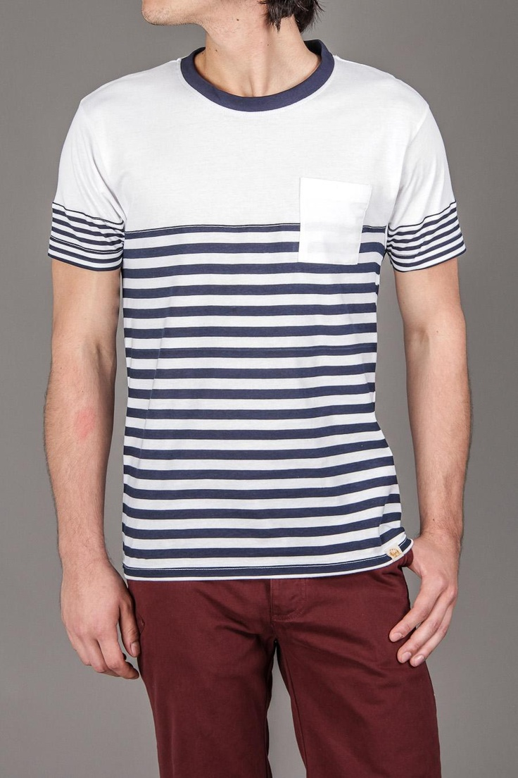 Stripe teeFree Ships, Men Crew, Shirts, Muhly Pants, Men Fashion, Neck Stripes, Crew Neck, Perfect Colors, Guys Wore