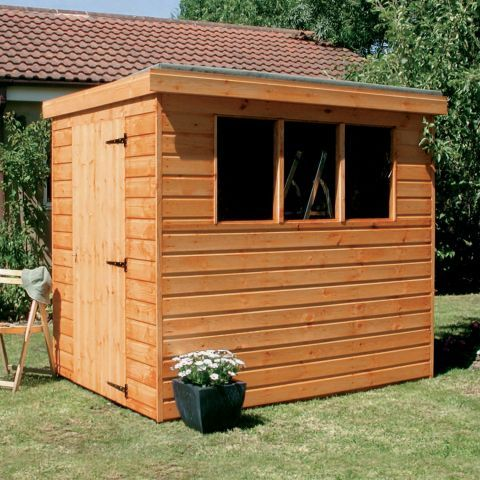 shedlands 6ft x 4ft 183m x 122m dalby pent shed next day - Garden Sheds 6ft By 4ft