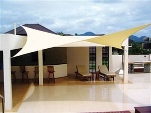 Coolaroo 5.4m Square Shade Sail