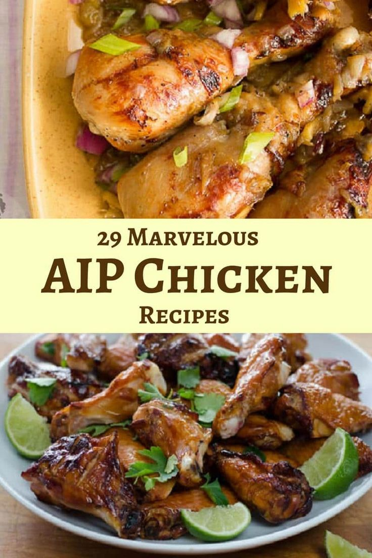 29 Marvelous AIP Chicken Recipes-min