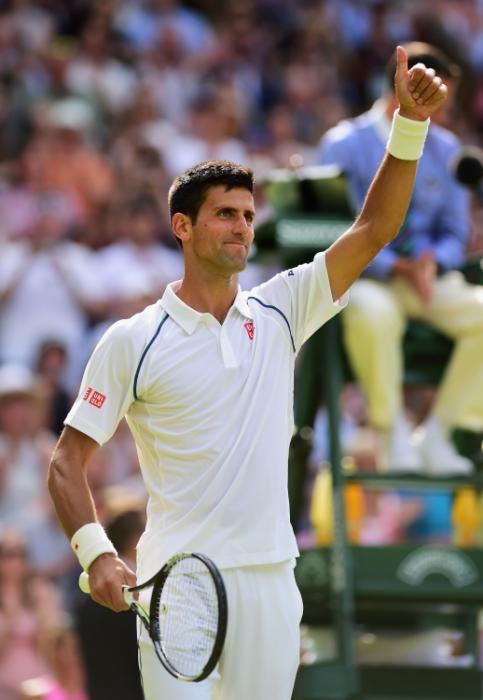 Novak Djokovic-Wimbledon 2015