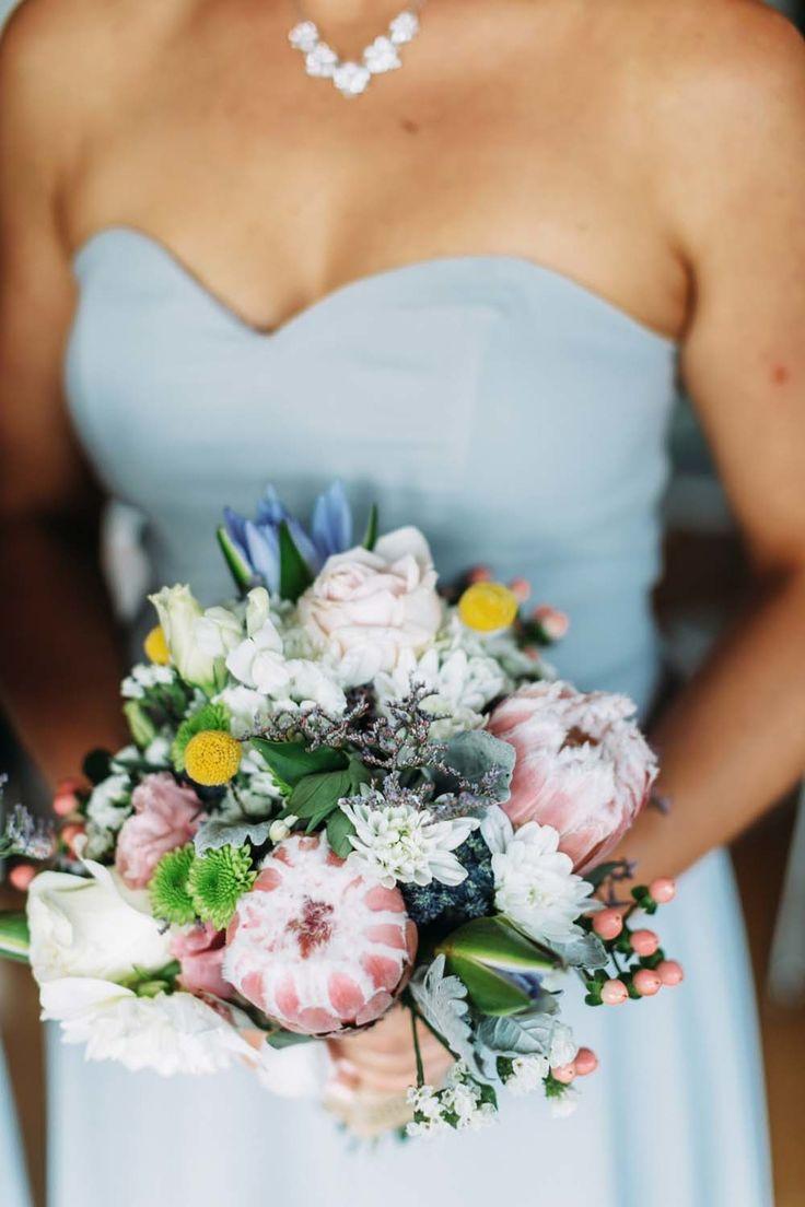 Gorgeous soft shades | http://www.stylemepretty.com/australia-weddings/new-south-wales-au/2015/06/23/coastal-diy-wedding-in-new-south-wales/ | Photography: At Dusk Photography - www.atdusk.com.au/