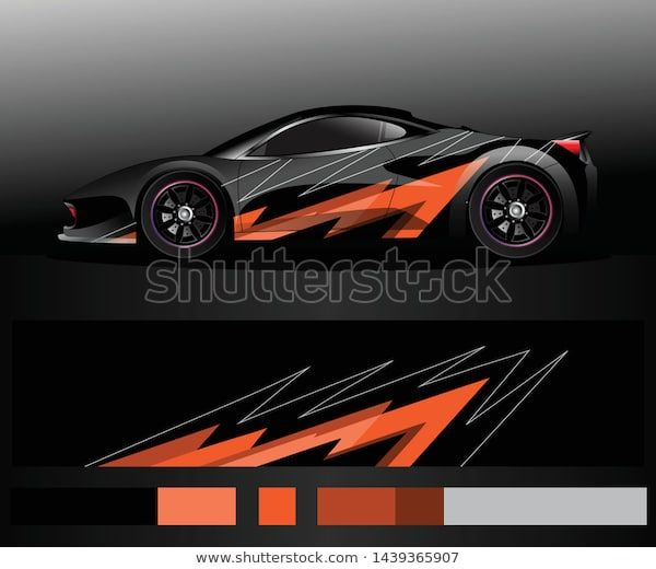 Find Sport Car Decal Graphic Wrap Vector Stock Images In Hd And Millions Of Other Royalty Free Stock Photos Illustrations And Vectors In The Shutterstock Colle