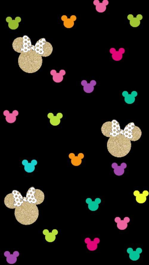 Disney Minnie Mouse heart wallpaper