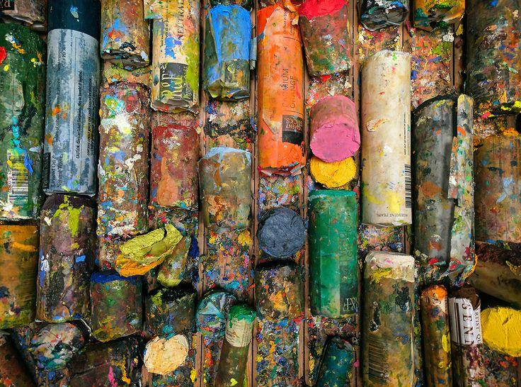 oil bars in the studio rick stevens studio - Rick Stevens Art