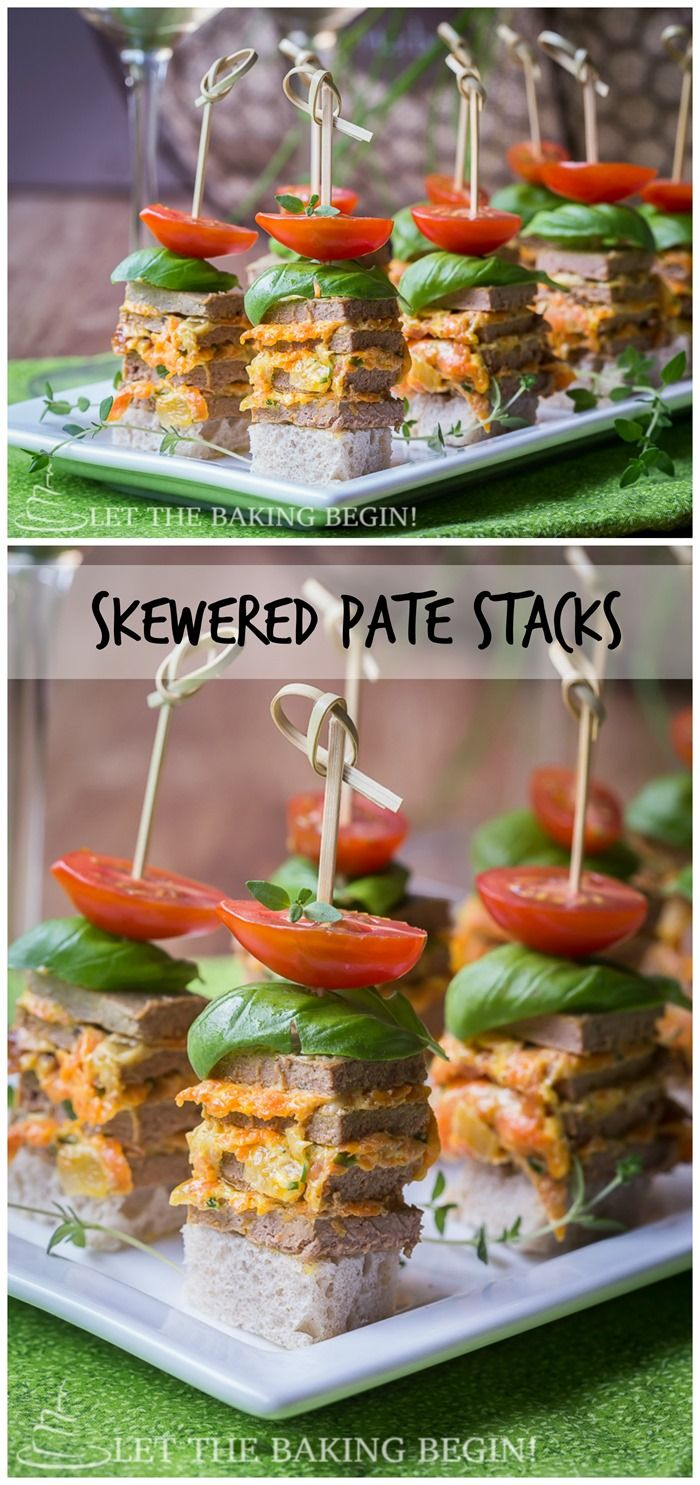 761 best russian food recipes images on pinterest russian foods skewered pate stacks great appetizer for any get together delicious quick and creative way to kick up your appetizer selection by lett forumfinder Image collections