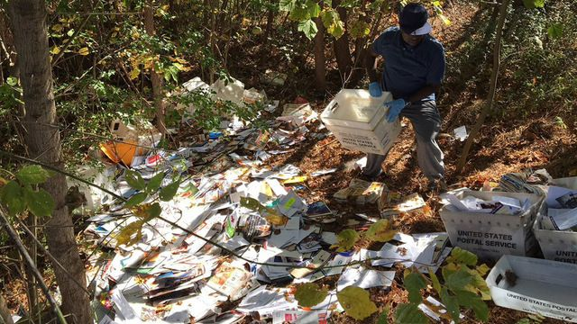 How a Postal worker left thousands of pieces of mail in the woods, and the impact it has on those affected, LIVE at 5 on Channel 2 Action News.