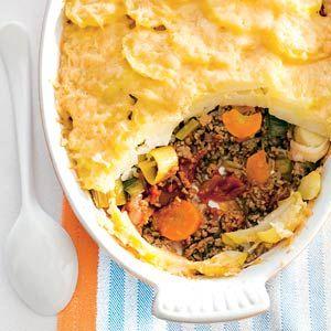 Ovenschotel met gehakt en groente
