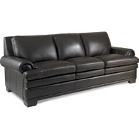 I love my brown leather furniture.  You can never go wrong with leather.