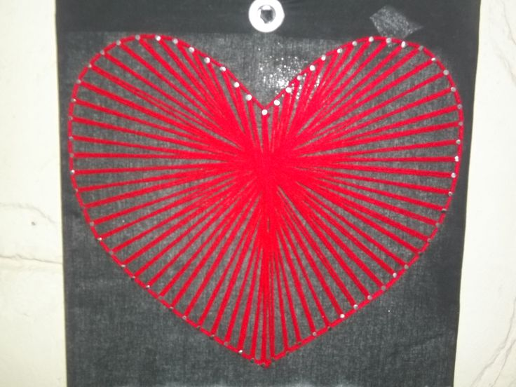 heart from wool
