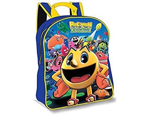 Pac-Man 3D Backpack @ niftywarehouse.com #NiftyWarehouse #PacMan #VideoGames #Pac-man #Arcade #Classic