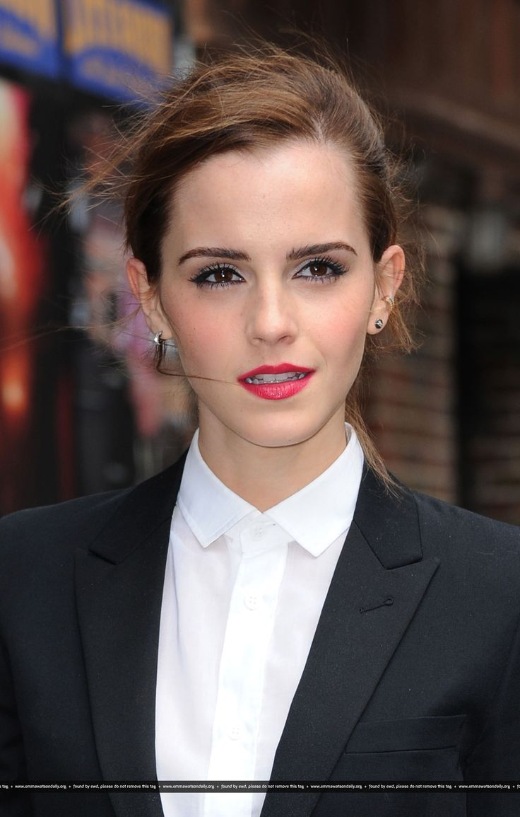 With emmawatson hermione upskirt letterman something is