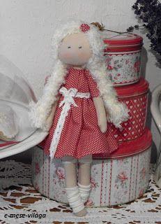 textil babák készítése,Tilda babák,textil állatkák készítése
