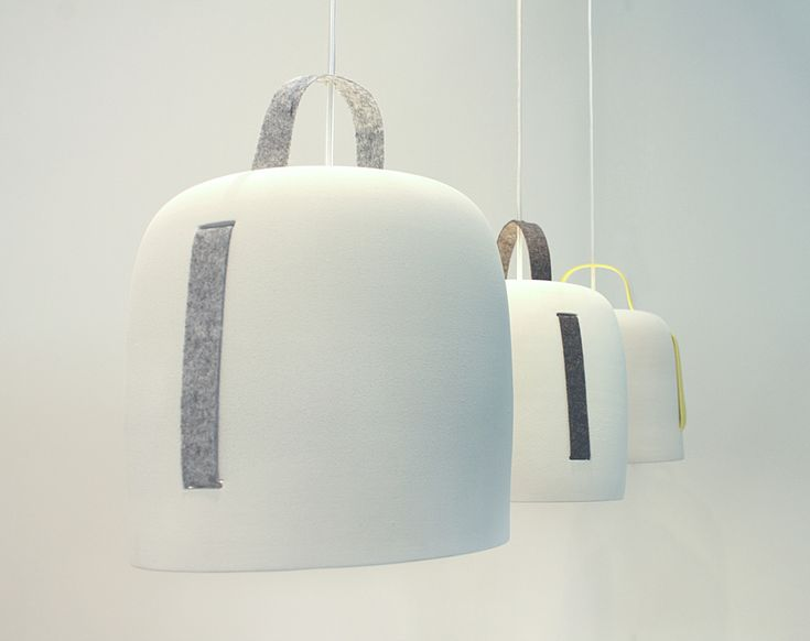 Cowbell lamp by Silvia Ceñal for Massmi