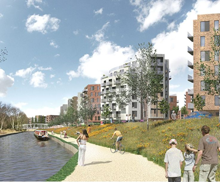 JTP's masterplan for the regeneration of the former Southall Gasworks for St James has received planning approval by London Borough of Ealing.
