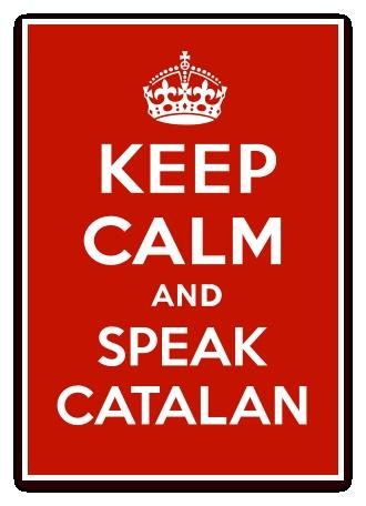 Keep calm and speak catalan Independència #tenimpressa
