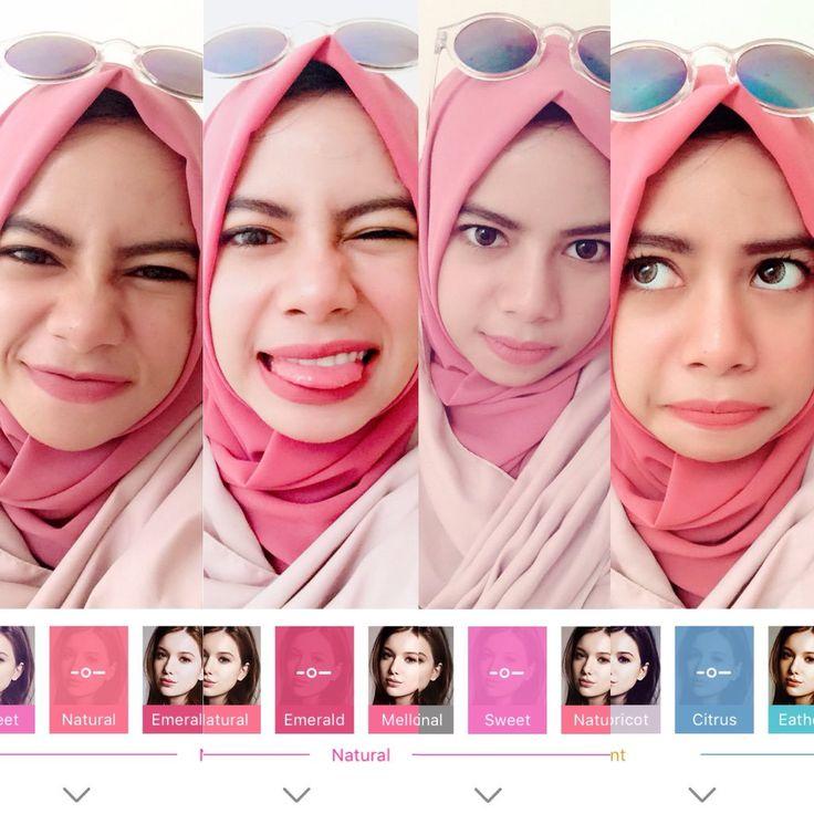 Sekali lagi. Selamat lebaran semuanya! Maap pake selfie segala, abisnya filter BeautyPlus bagus2😜 #BeautyPlusLebaran