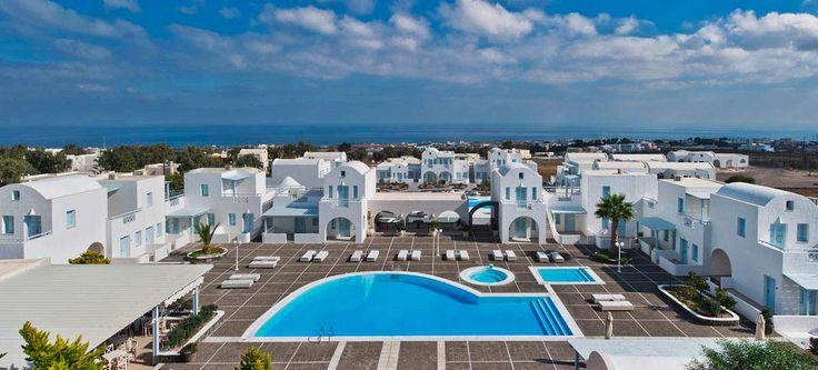 el greco, santorini hotel.