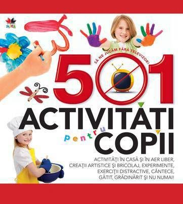 501 activitati pentru copii -
