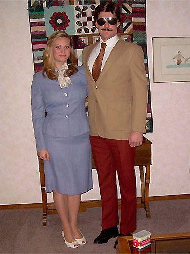 Ron Burgundy and Veronica Corningstone from <i>Anchorman</i> - Cosmopolitan.com