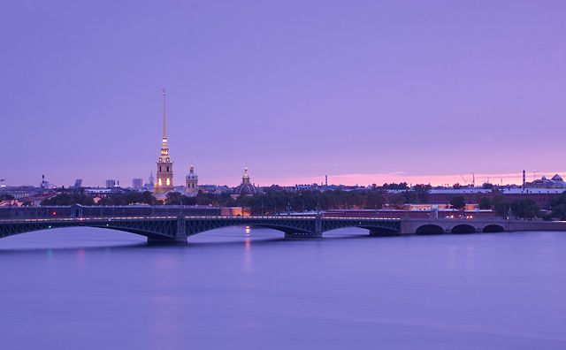 Time Lapse in Saint-Petersburg, Russia, 2011-2012