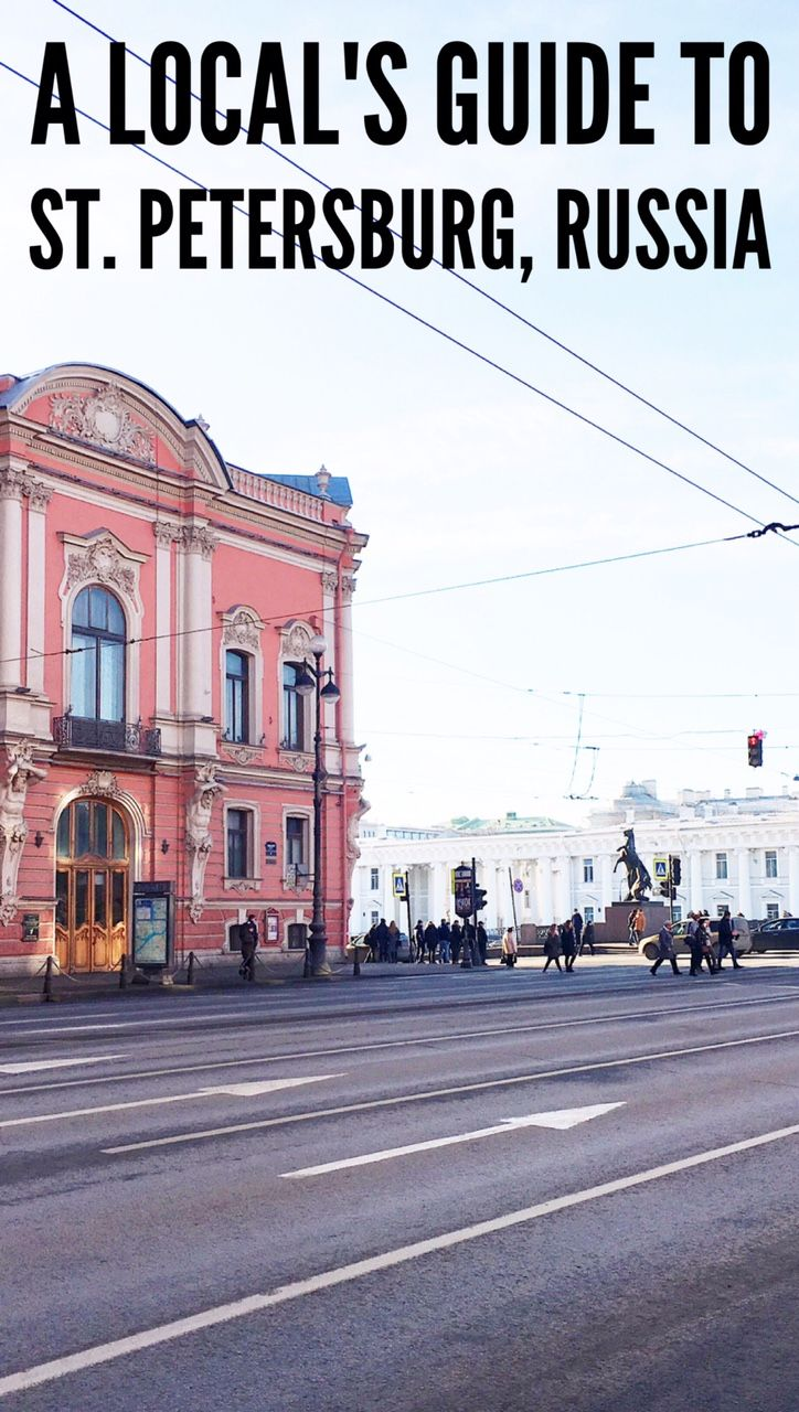 A local's guide to Saint Petersburg, Russia. Things to do in St. Petersburg, hotels, food, weather, prices