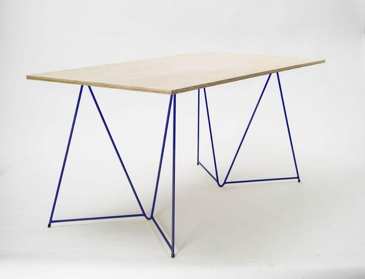 Diamond Trestle Table / Master&Master