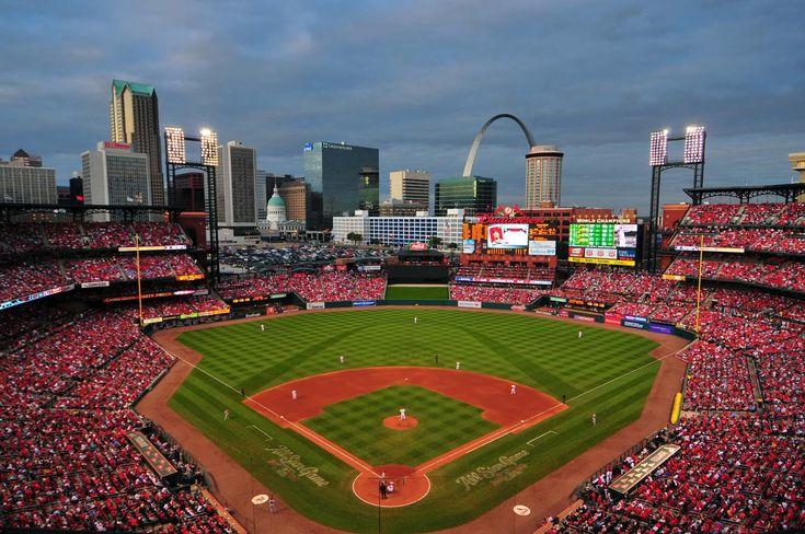 Busch Stadium, St. Louis, Missouri - Home of the St. Louis Cardinals